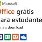 Obter o Office para estudantes